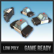 Politieauto 3d model