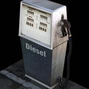 benzin bağbozumu 3d model