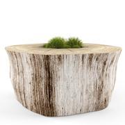 decorative stump 3d model