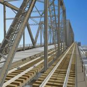 railway bridge 3d model
