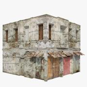 Gebäude Low Poly 3d model