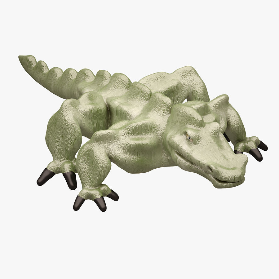 Monster 001 LOWPOLY-トポロジ-リグなし royalty-free 3d model - Preview no. 1