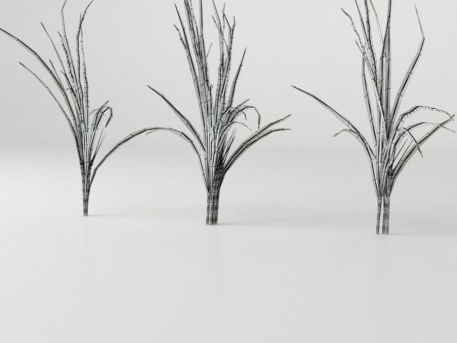 잔디와 식물 메가 팩 royalty-free 3d model - Preview no. 4