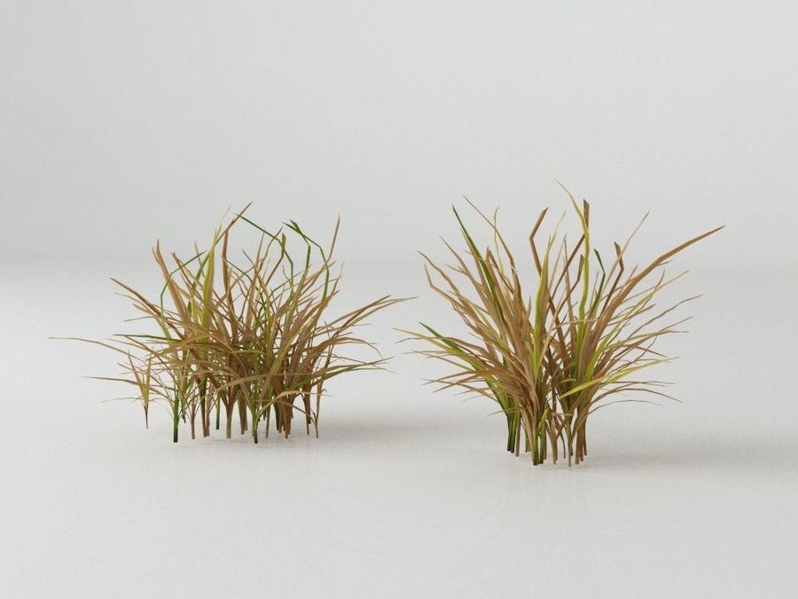 잔디와 식물 메가 팩 royalty-free 3d model - Preview no. 1