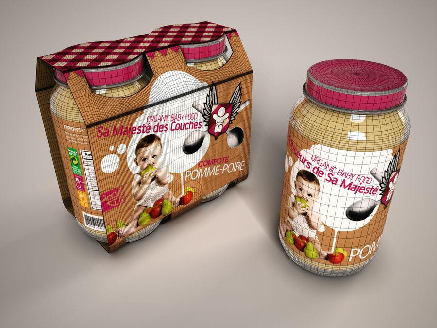 Nourriture pour bébés royalty-free 3d model - Preview no. 5