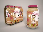 Baby food 3d model