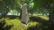 Nordic obelisk 3d model