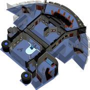 Sotherland Bridge Complex (for Poser) 3d model