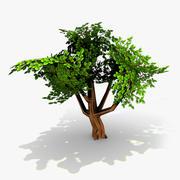 Juego de árbol de accesorios de juego 01 modelo 3d