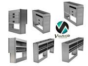 Sistema Van box modelo 3d