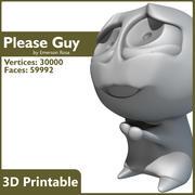 3D-afdrukbare - Please Guy Meme 3d model