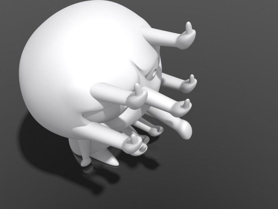 3Dプリント可能-ねじ締め「最終形態」 royalty-free 3d model - Preview no. 4