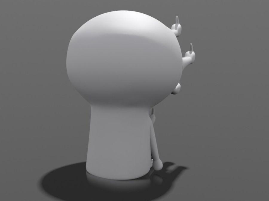 3Dプリント可能-ねじ締め「最終形態」 royalty-free 3d model - Preview no. 3