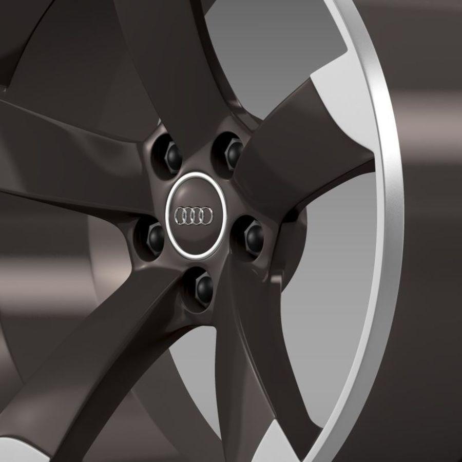 Cerchio Audi R8 Spyder royalty-free 3d model - Preview no. 4