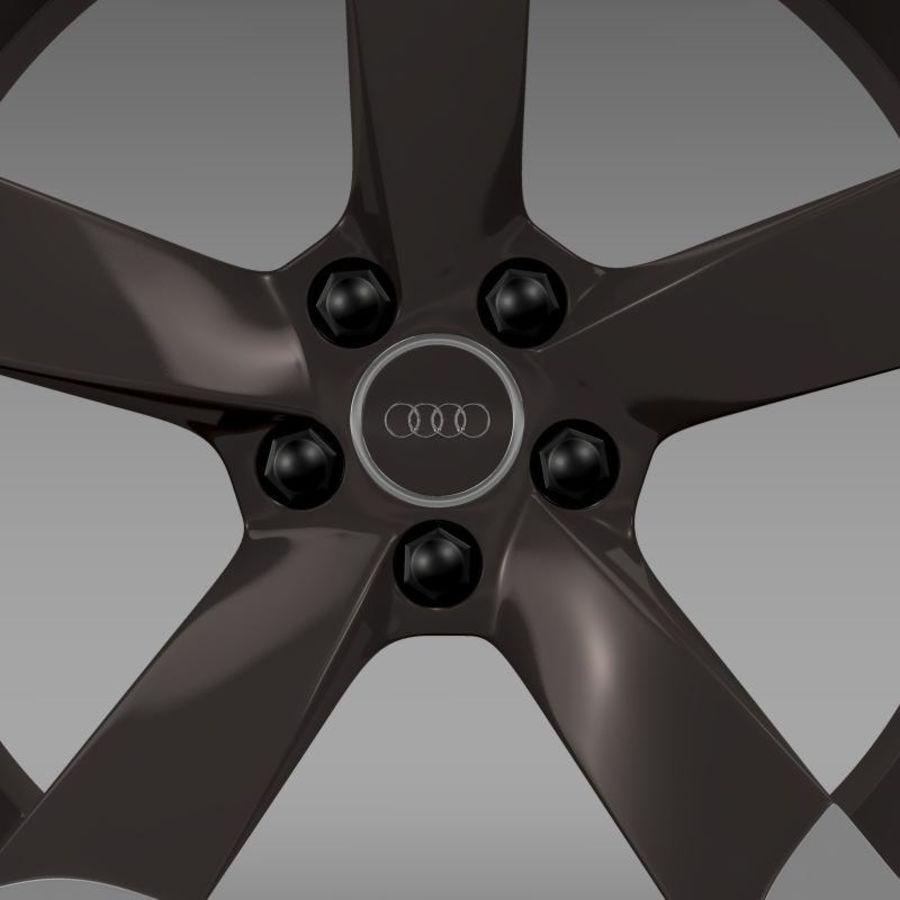 Cerchio Audi R8 Spyder royalty-free 3d model - Preview no. 5