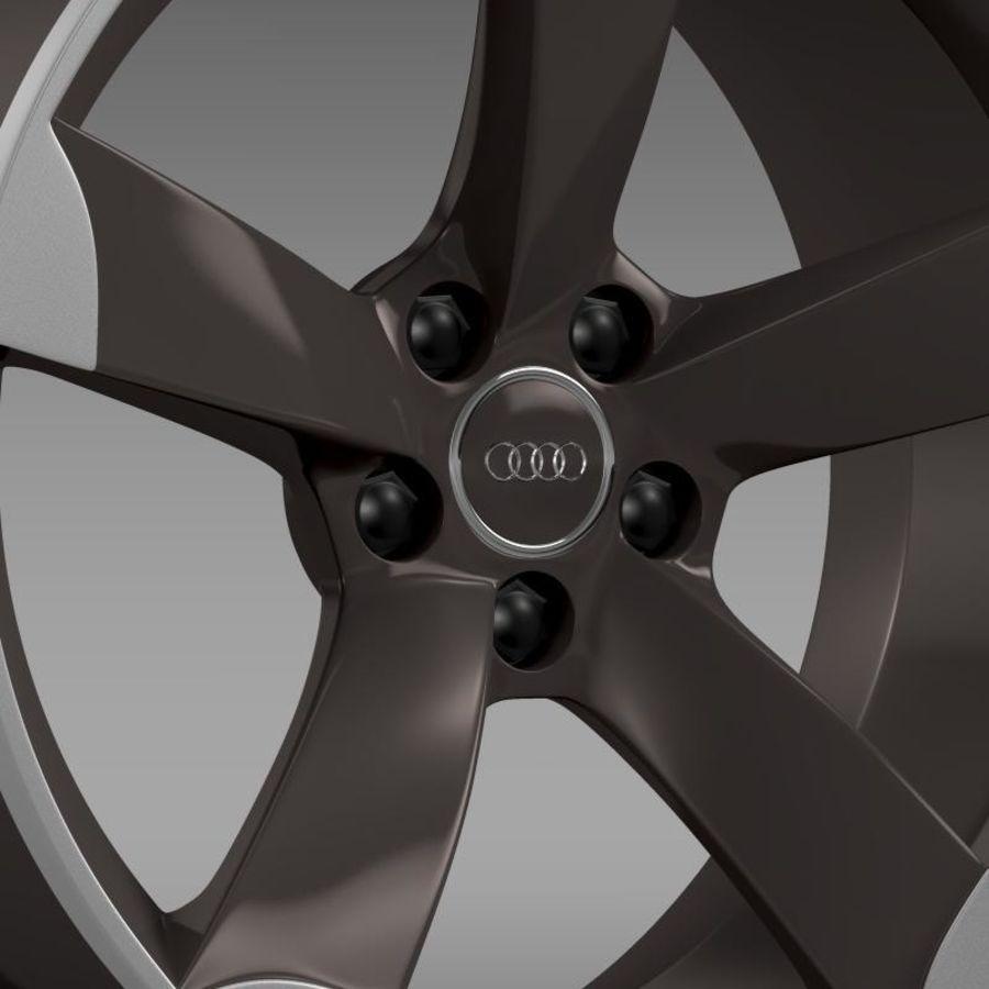 Cerchio Audi R8 Spyder royalty-free 3d model - Preview no. 6