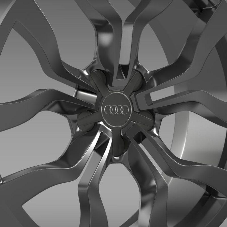 Cerchio Audi R8 V10 spyder 2013 royalty-free 3d model - Preview no. 6