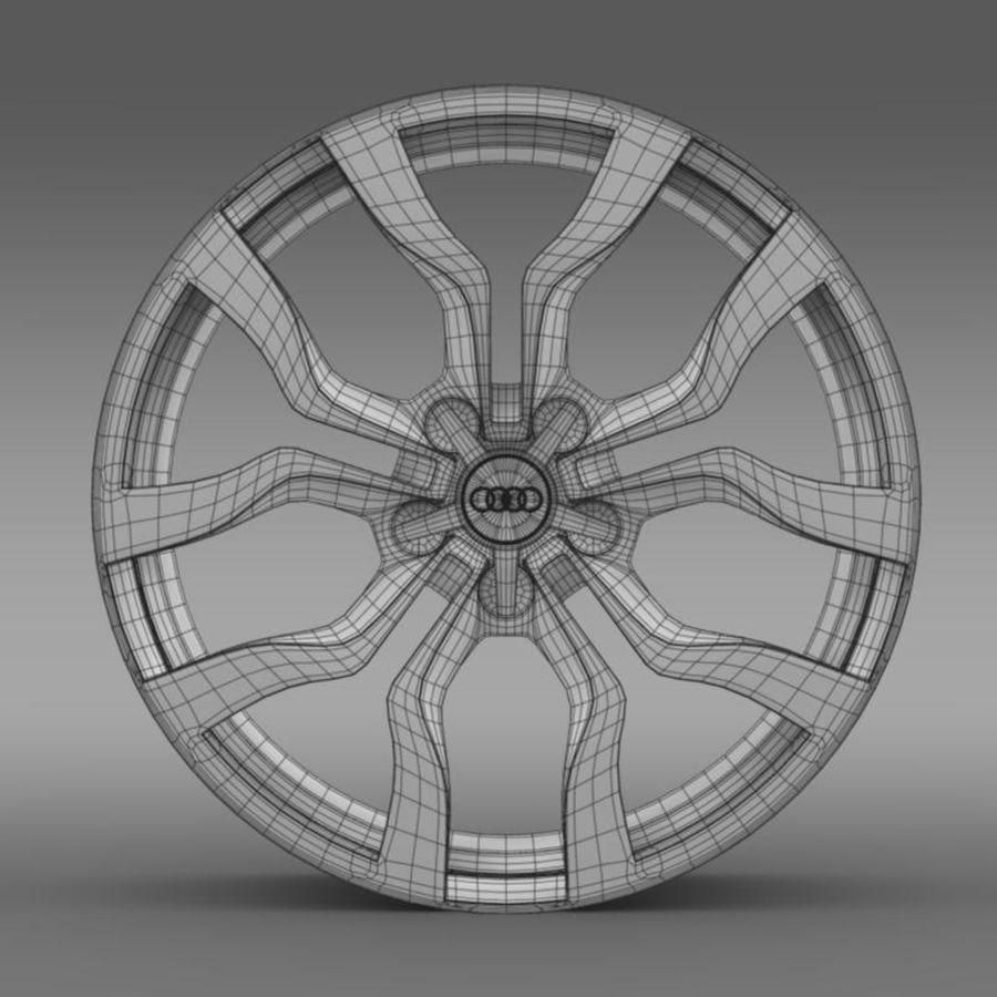 Cerchio Audi R8 V10 spyder 2013 royalty-free 3d model - Preview no. 7
