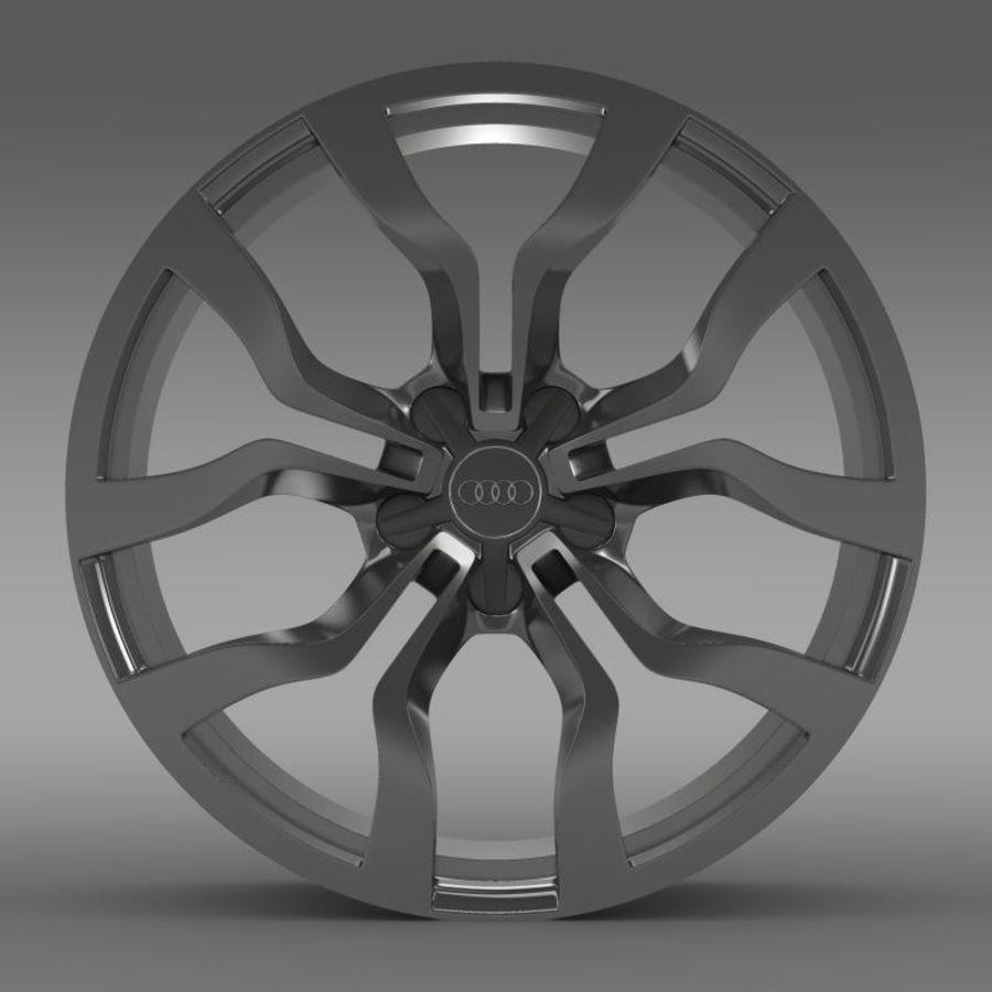 Cerchio Audi R8 V10 spyder 2013 royalty-free 3d model - Preview no. 2