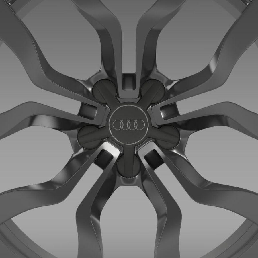 Cerchio Audi R8 V10 spyder 2013 royalty-free 3d model - Preview no. 5