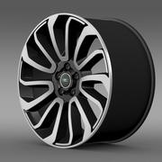Cerchio RangeRover V8 3d model