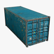 Container Ruined 20ft 3d model