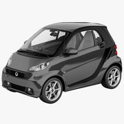 Smart Fortwo 2013年 3d model