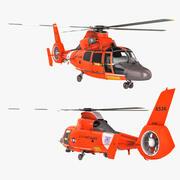 Arama Kurtarma Helikopteri Eurocopter HH-65 Dolphin 3d model