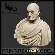 罗马帝国领事的可印刷半身像 3d model