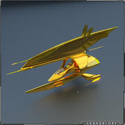 Golgi CZ Royal Gunship 3d model