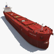 Ship Bulk Carrier 3d model