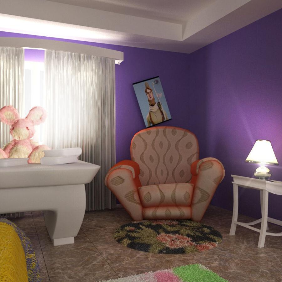 卡通房 royalty-free 3d model - Preview no. 7