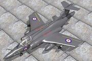 Hawker Siddely Buccaneer S2 3d model