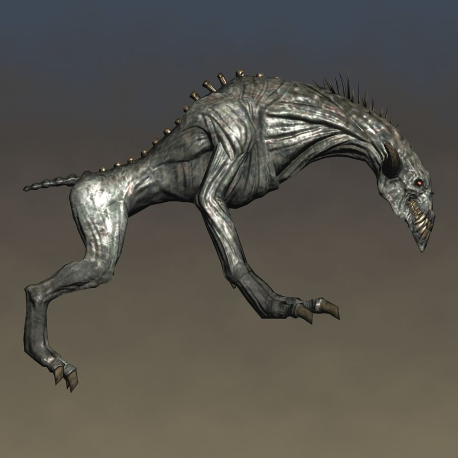 SnarlSpine royalty-free 3d model - Preview no. 4
