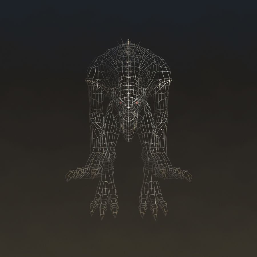 SnarlSpine royalty-free 3d model - Preview no. 7