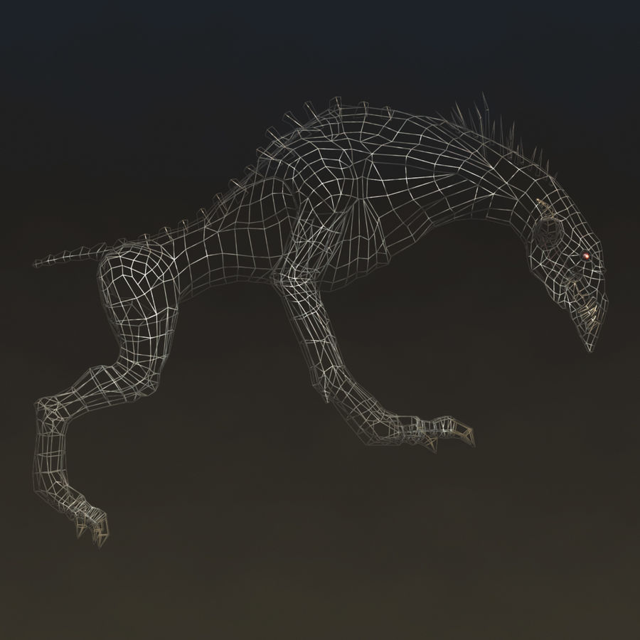 SnarlSpine royalty-free 3d model - Preview no. 5