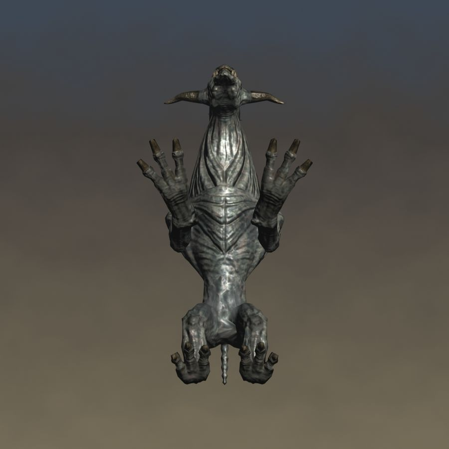 SnarlSpine royalty-free 3d model - Preview no. 10