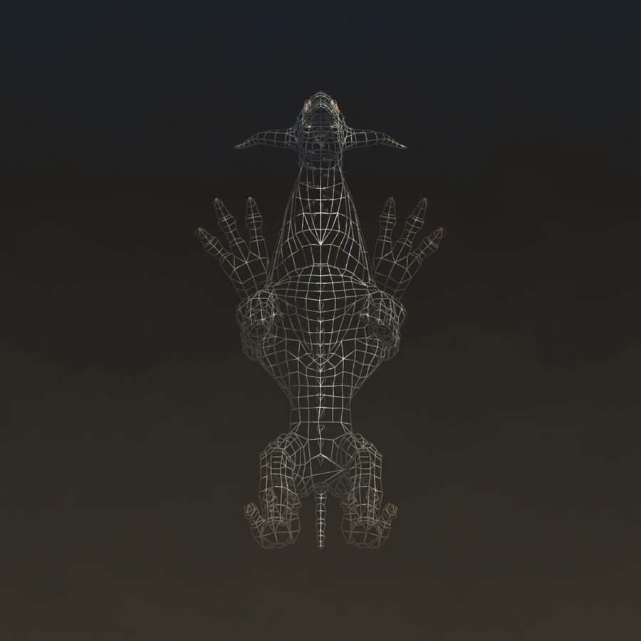 SnarlSpine royalty-free 3d model - Preview no. 11