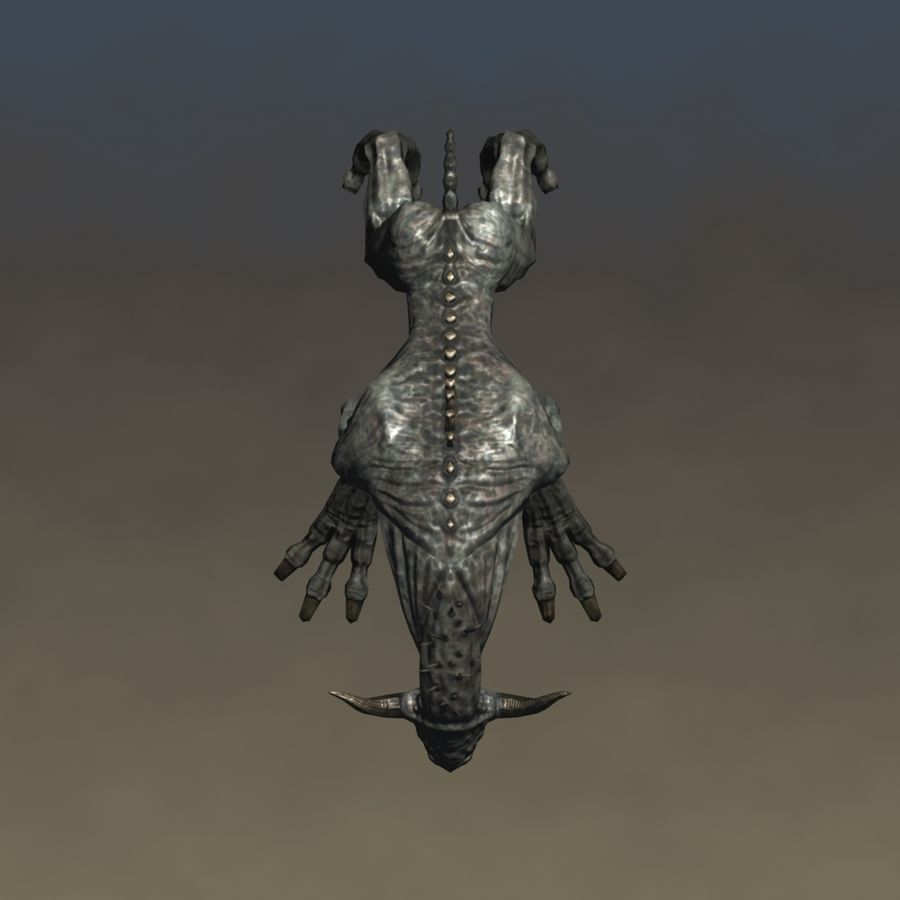 SnarlSpine royalty-free 3d model - Preview no. 8