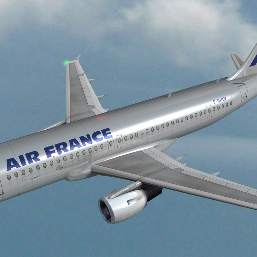 A 320 royalty-free 3d model - Preview no. 3