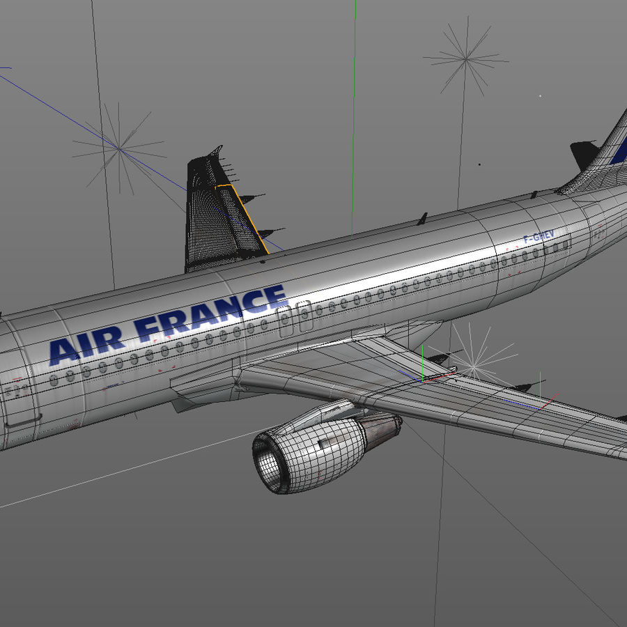 A 320 royalty-free 3d model - Preview no. 5