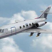 Falcon 20 de Meteo FR 3d model