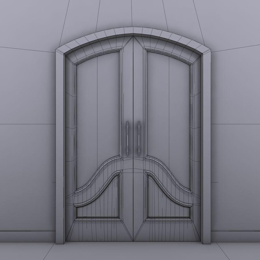 Deur royalty-free 3d model - Preview no. 8