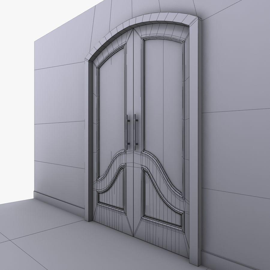 Deur royalty-free 3d model - Preview no. 9