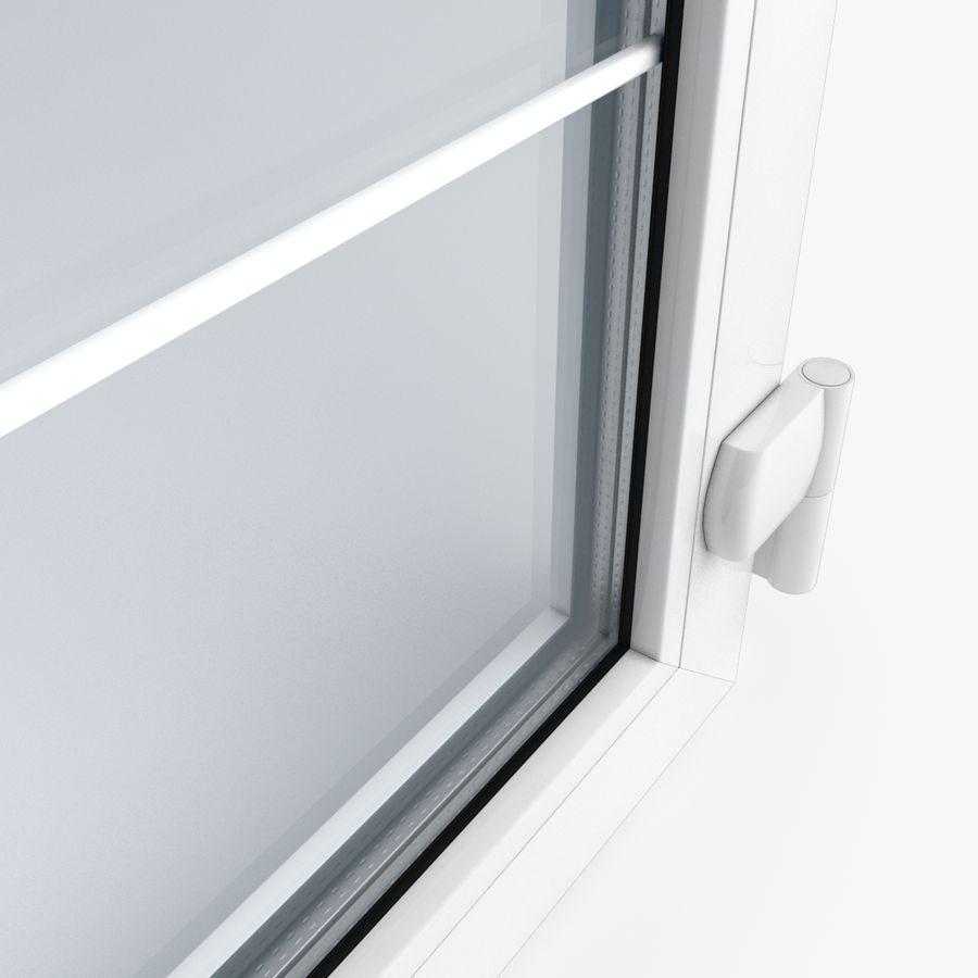 Современная дверь ПВХ 2 royalty-free 3d model - Preview no. 4