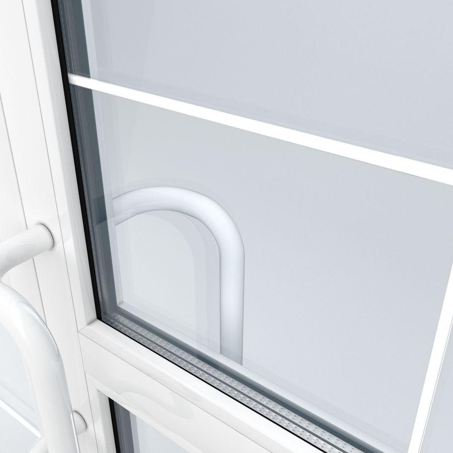 Современная дверь ПВХ 2 royalty-free 3d model - Preview no. 3