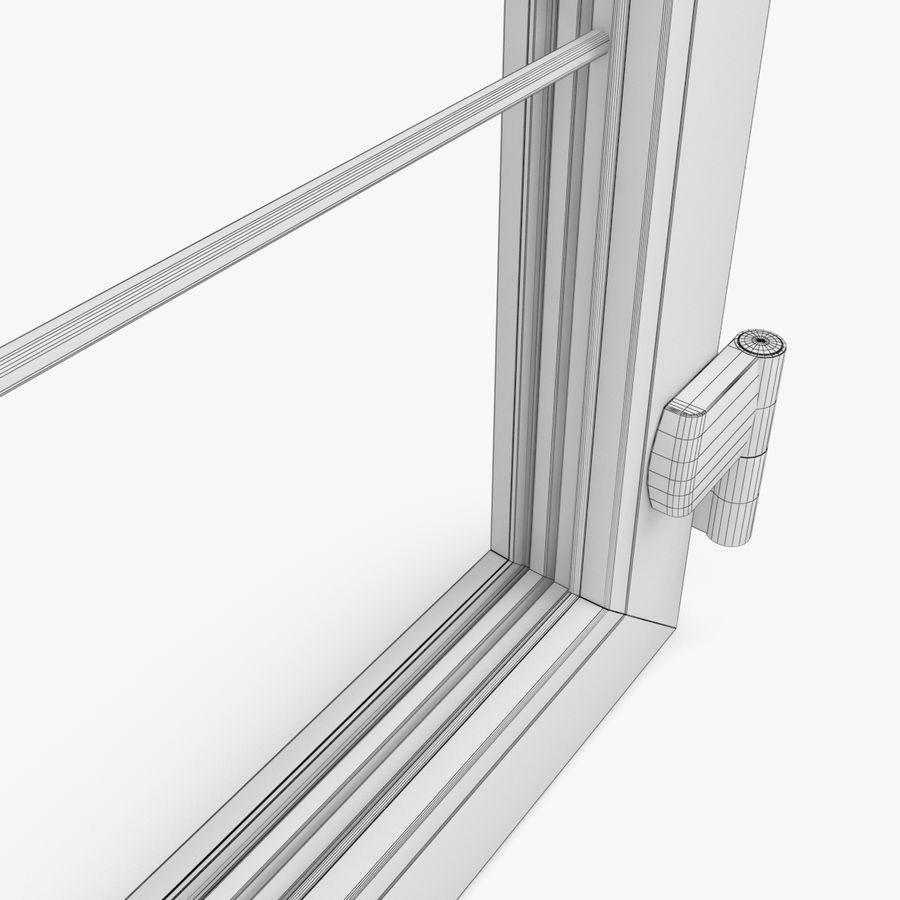 Современная дверь ПВХ 2 royalty-free 3d model - Preview no. 7