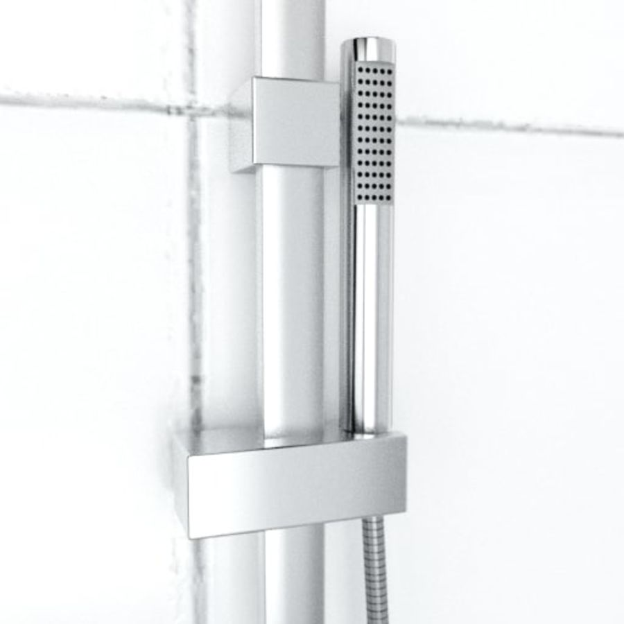 Architech Shower royalty-free 3d model - Preview no. 5