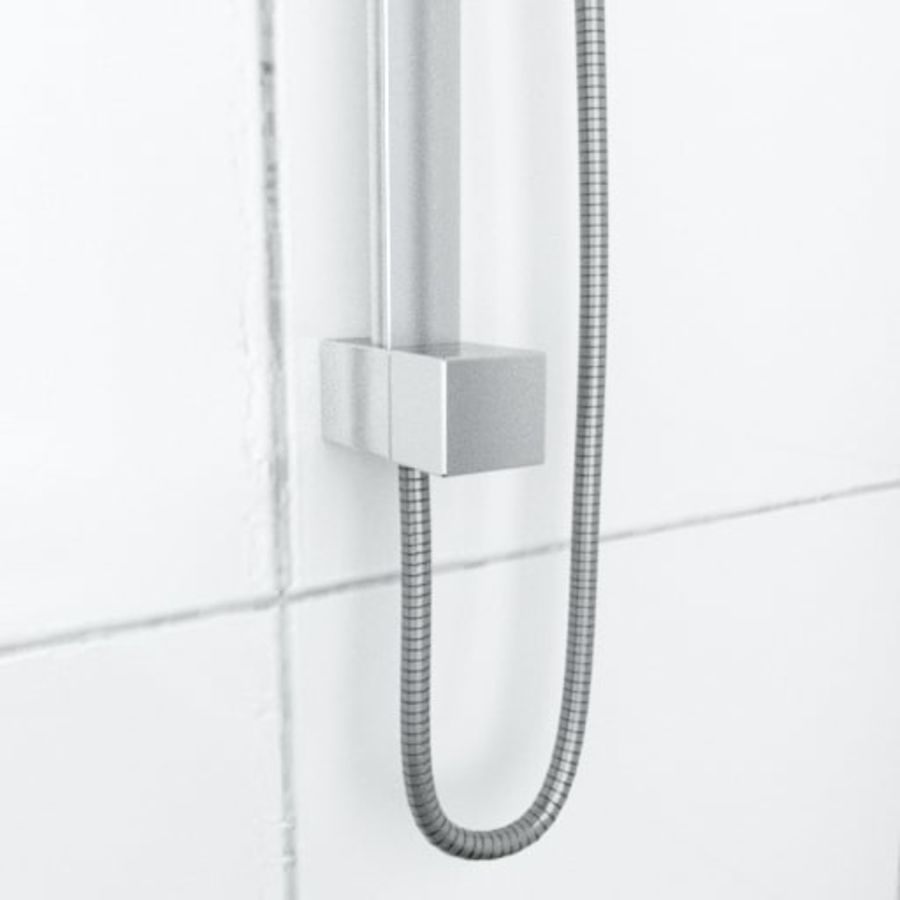 Architech Shower royalty-free 3d model - Preview no. 3