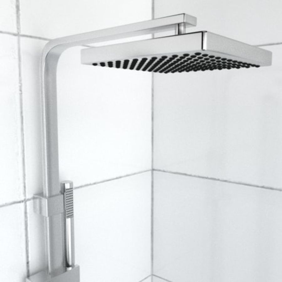 Architech Shower royalty-free 3d model - Preview no. 2